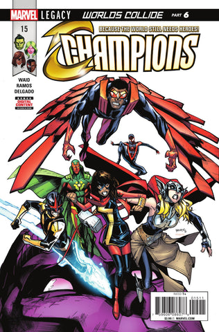 Champions (2016 Series) #15 (Regular Cover - Humberto Ramos)