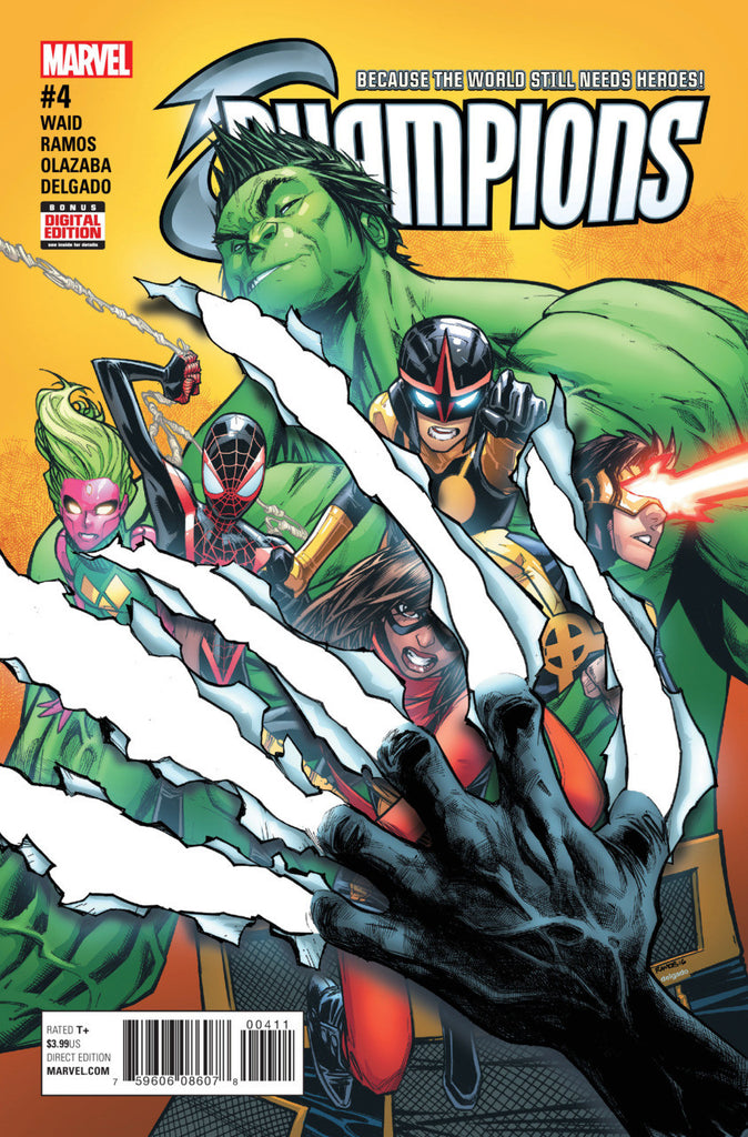 Champions (2016 Series) #4 (Regular Cover - Humberto Ramos)