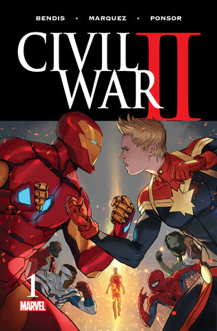 Civil War II (2016 Mini-Series) #1 (of 8) (Regular Cover - Marko Djurdjevic)