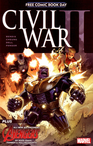 Civil War II (2016 Mini-Series) #00 (FCBD 2016 Edition - Jim Cheung)
