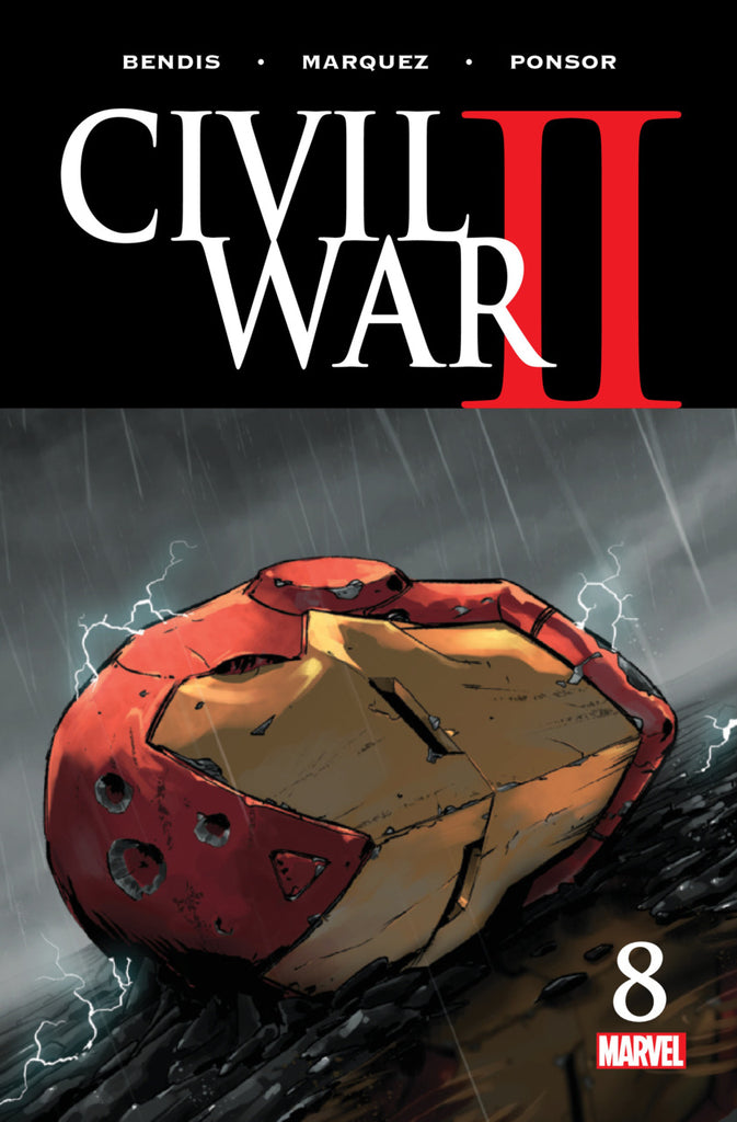 Civil War II (2016 Mini-Series) #8 (of 8) (Regular Cover - Marko Djurdjevic)