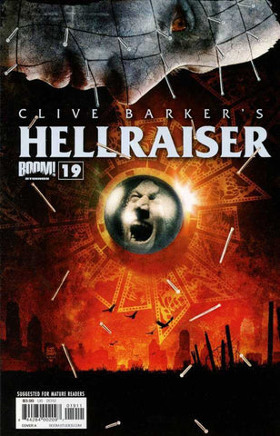 "Clive Barker's Hellraiser (2011 Series) #19 (Regular ""A"" Cover - Tim Bradstreet)"