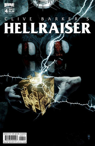 "Clive Barker's Hellraiser (2011 Series) #4 (Regular ""A"" Cover - Tim Bradstreet)"
