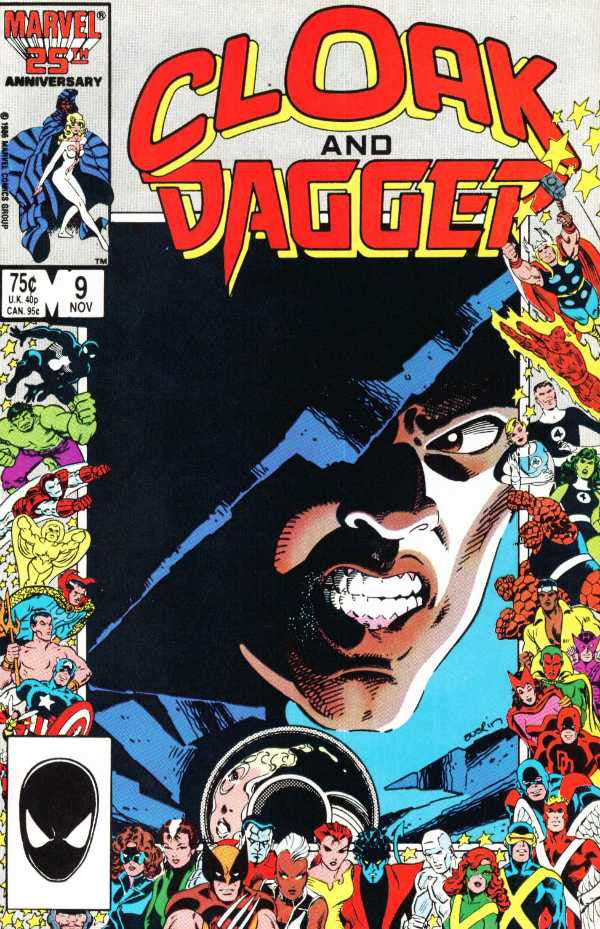 Cloak and Dagger (1985 Series) #9