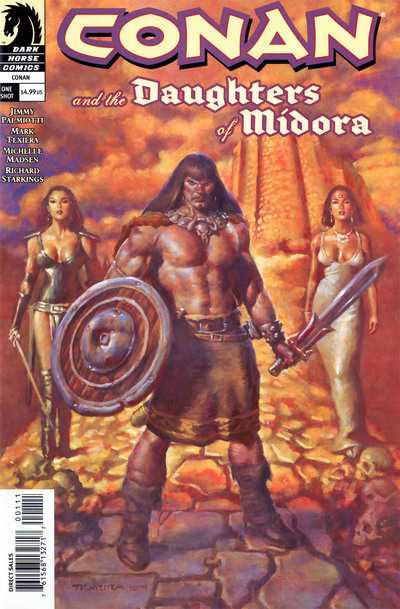 Conan and the Daughters of Midora (2004 One-Shot) #1