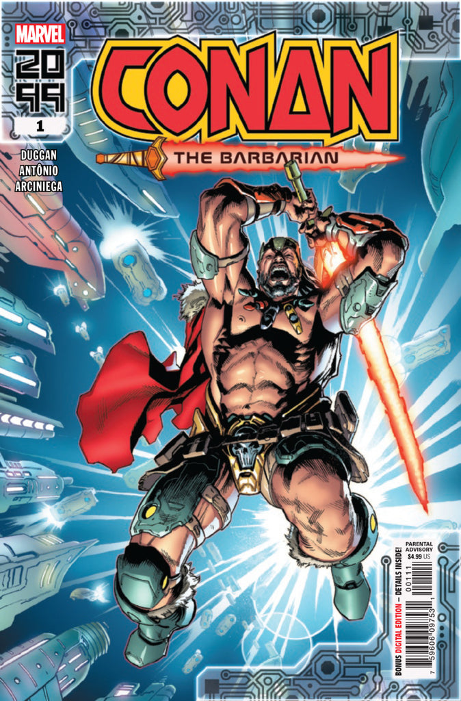 Conan the Barbarian 2099 (2019 one-shot) #1 (Regular Cover - Geoff Shaw)
