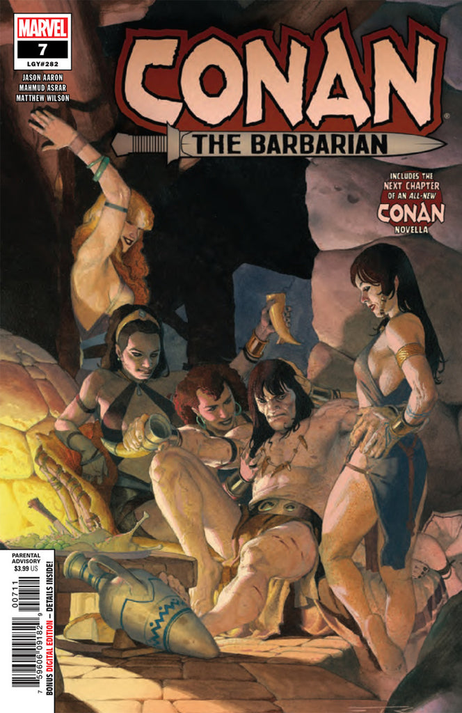 Conan the Barbarian (2018 series) #7 (Regular Cover - Esad Ribic)