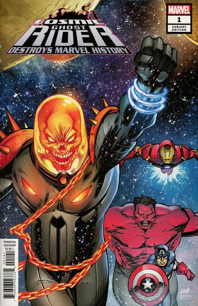Cosmic Ghost Rider (2019 mini-series) #1-6 [SET] — Volume 02: Cosmic Ghost Rider Destroys Marvel History (All Variant Covers)