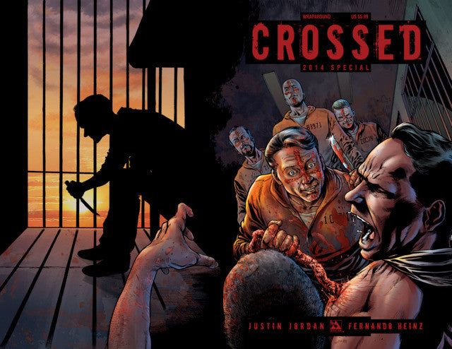 Crossed: Badlands (2012 Series) 2014 Special (Variant Wrap Cover - Gabriel Andrade)