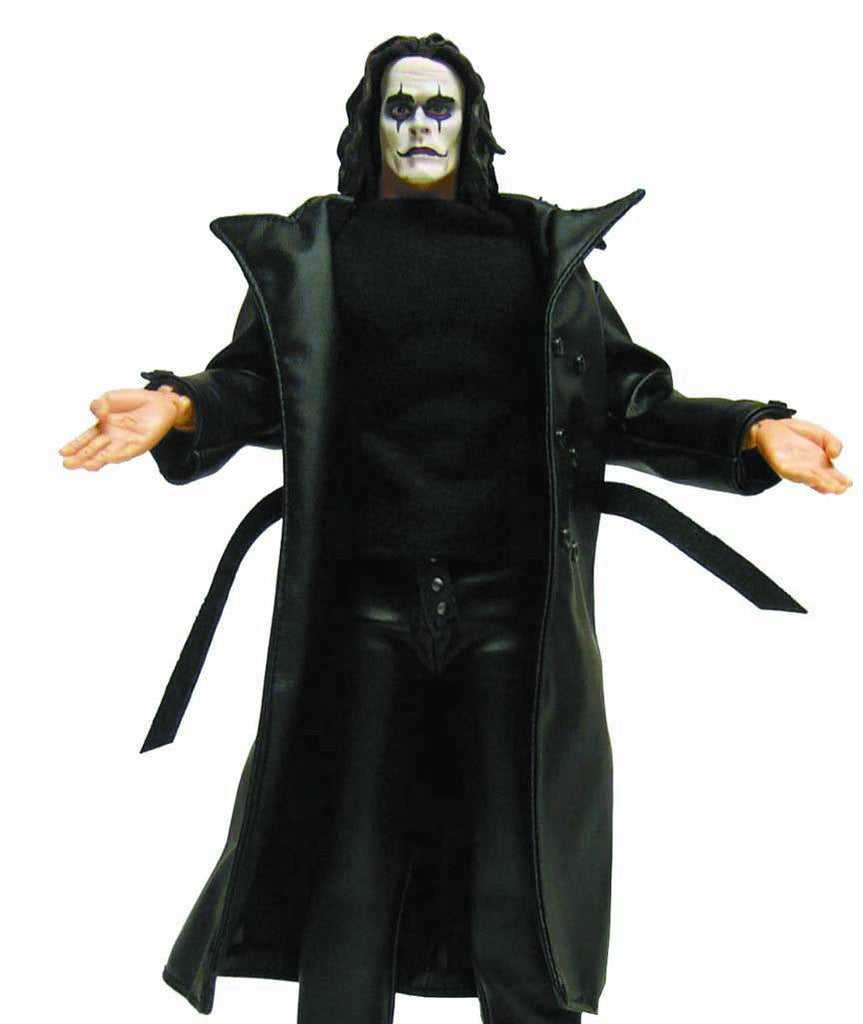 "Crow (Film) – Eric Draven Deluxe Talking 12"" Figure with Sound"