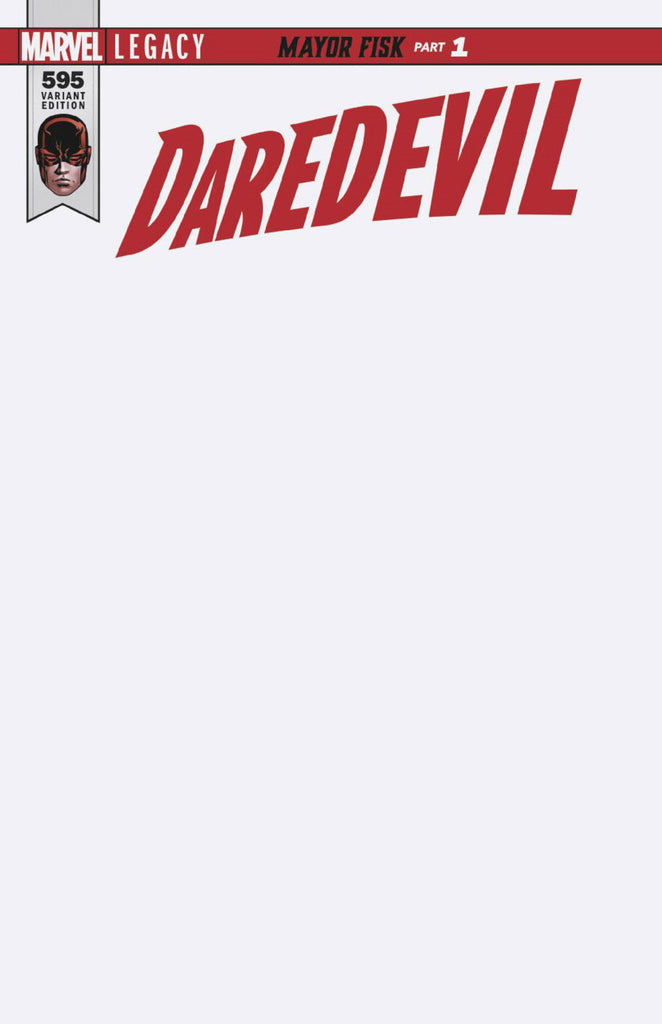 Daredevil (2015 Series) #595 (Variant Cover - Blank)
