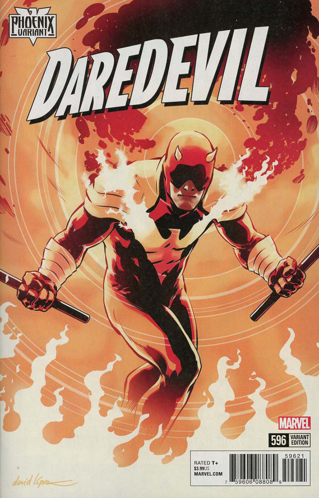 "Daredevil (2015 Series) #596 (Variant ""Phoenix"" Cover - David Lopez)"