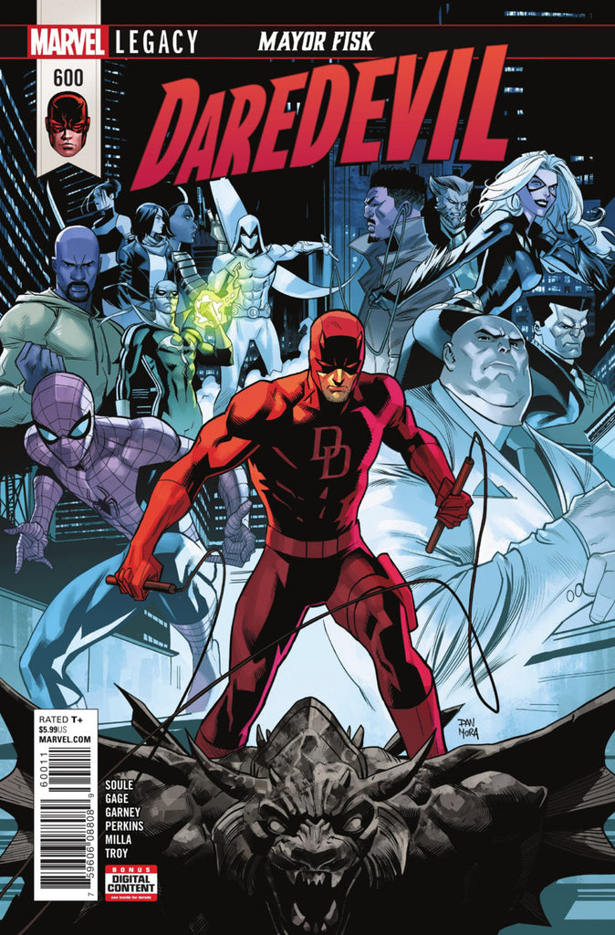Daredevil (2015 Series) #600 (Regular Cover - Dan Mora)