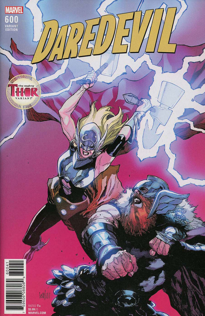 "Daredevil (2015 Series) #600 (Variant ""Mighty Thor"" Cover - Leinil Francis Yu)"