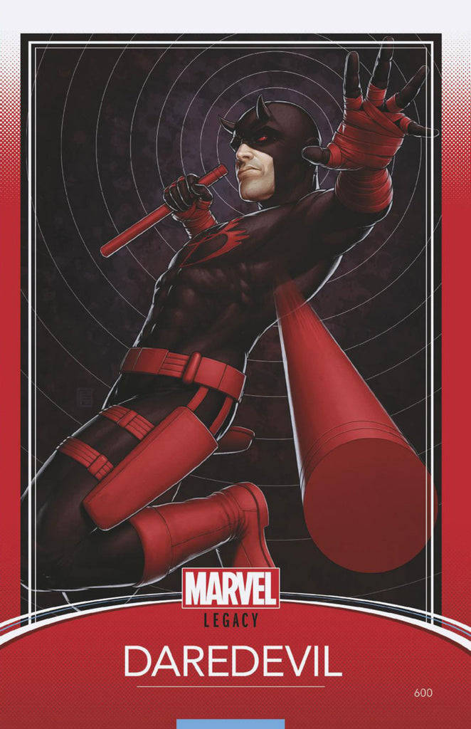 "Daredevil (2015 Series) #600 (Variant ""Trading Card"" Cover - John Tyler Christopher)"