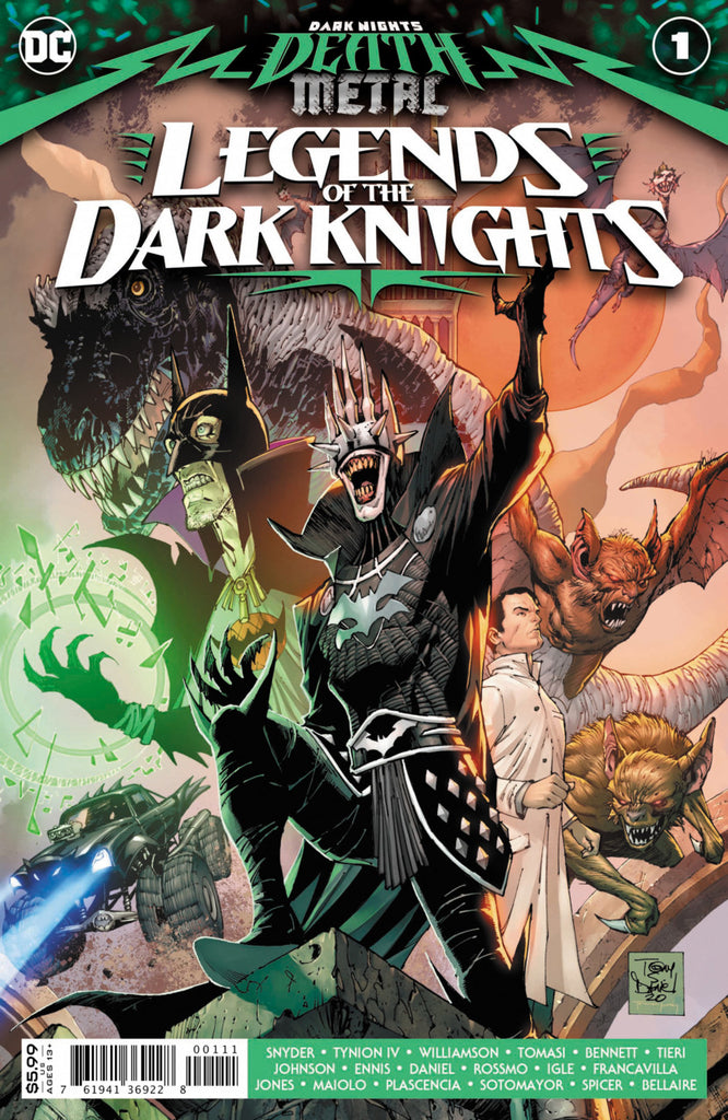Dark Nights; Death Metal - Legends of the Dark Knights (2020 one-shot) #1 (Regular Card Stock Cover - Tony S. Daniel)