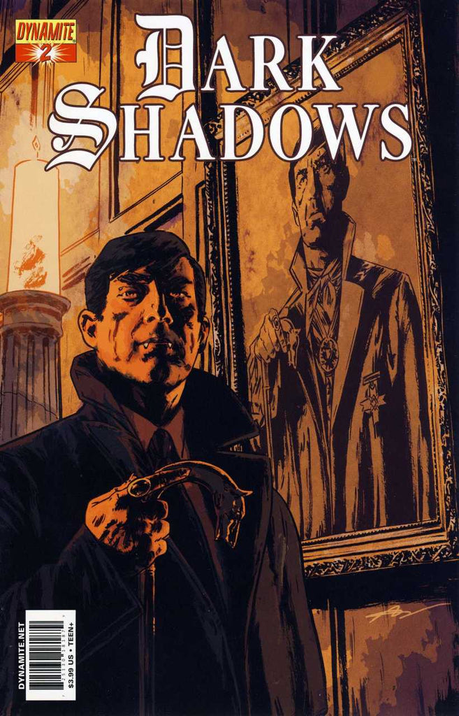 "Dark Shadows (2011 Series) #2 (Variant ""B"" Cover - Aaron Campbell)"