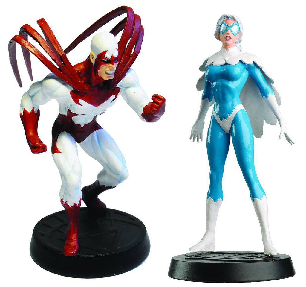 DC Superhero Collection – #13 Hawk & #14 Dove Collectible Lead Figurines
