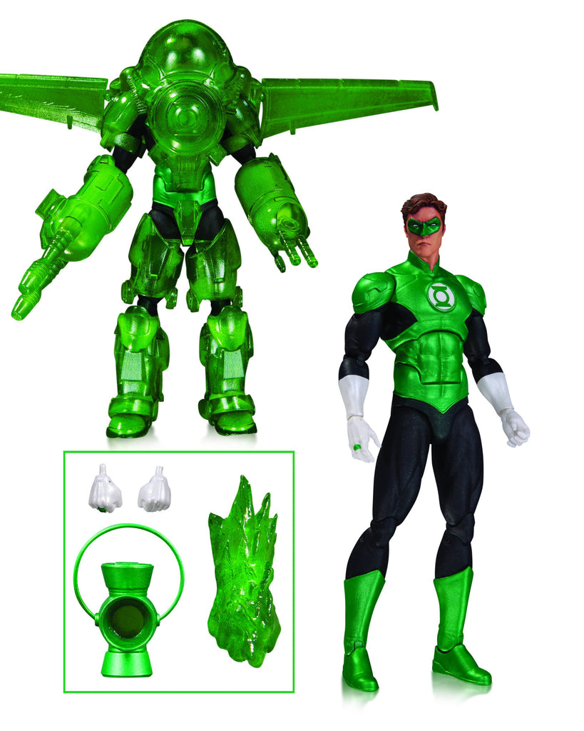 "DC Comics Icons – Green Lantern Hal Jordan ""Dark Days"" Deluxe 6"" Figure"