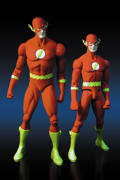 "DC Direct: Deluxe Action Figure Box Set – Flash and Kid Flash (Silver Age Version) 6"" Figures"
