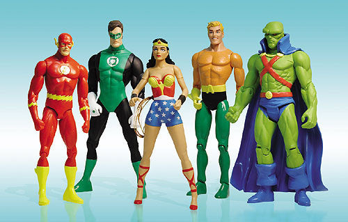"DC ""First Appearance"" Gift Set - Justice League of America ""Brave and the Bold"" (Silver Age Version) 5-Figure Box Set"