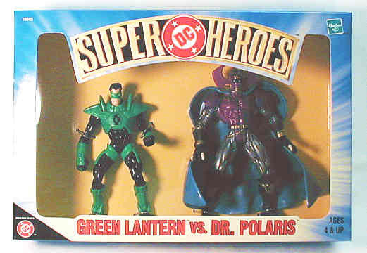 "DC Super Heroes Box Set – Green Lantern vs. Dr. Polaris 5"" Figures"