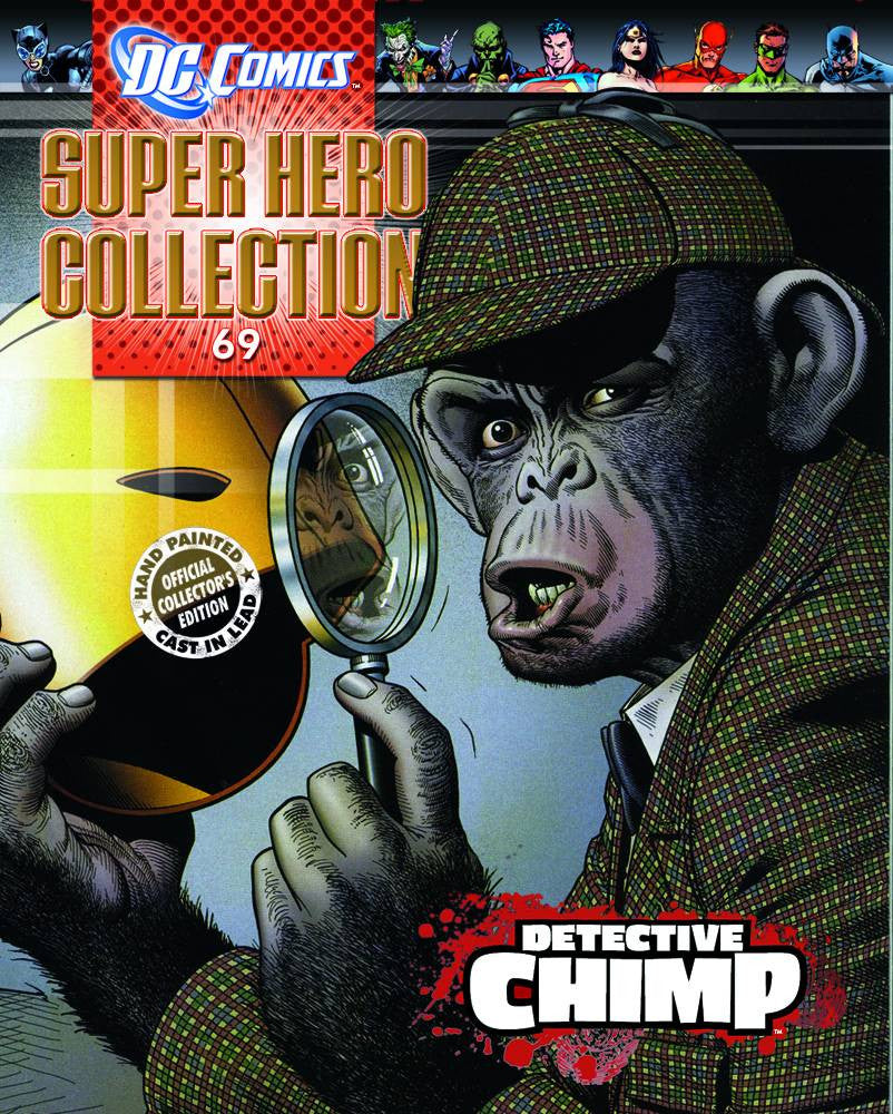 DC Superhero Collection – #69 Detective Chimp Collectible Lead Figurine