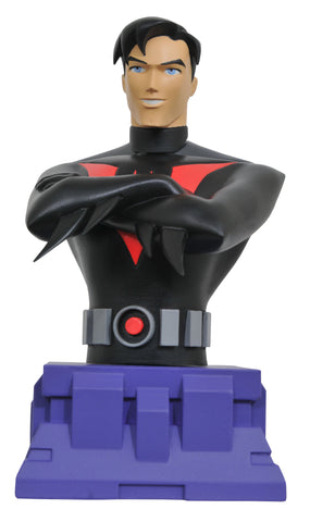 "DC Animated Universe – Batman Beyond – Batman Bust (Variant ""Unmasked"" Edition) (SDCC 2017 Exclusive)"