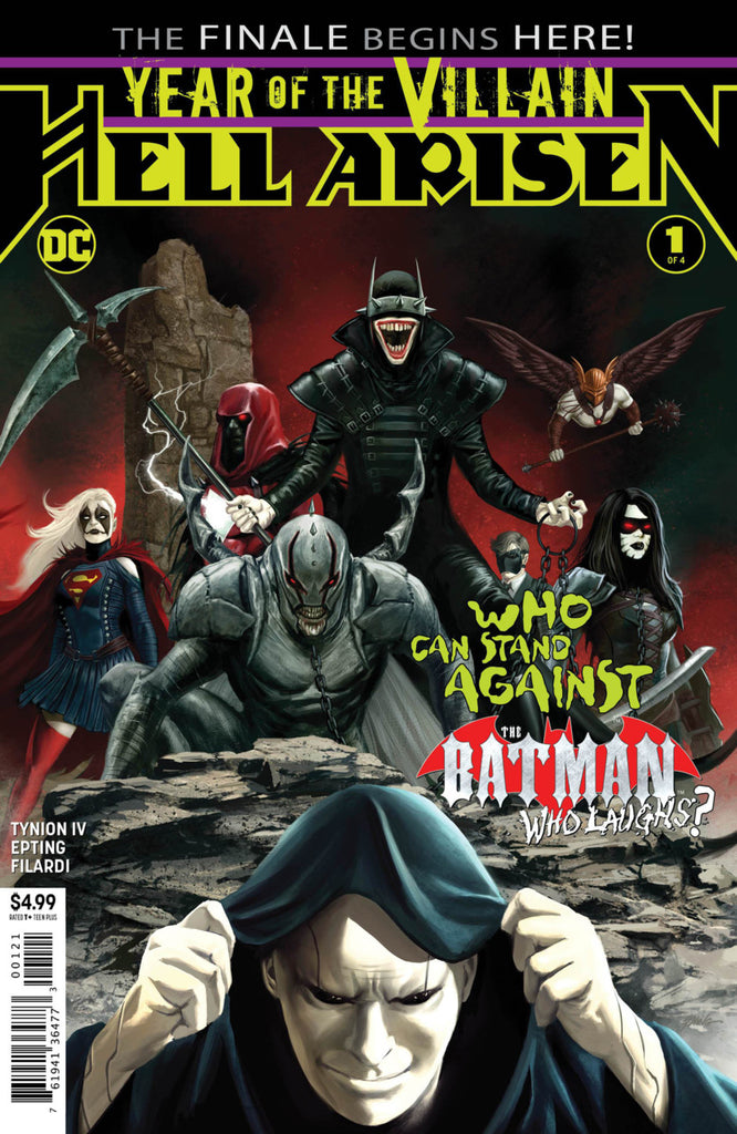 DC's Year of the Villain (2019 mini-series) #1-4 [SET] — Volume 02: Hell Arisen (All Regular Covers)
