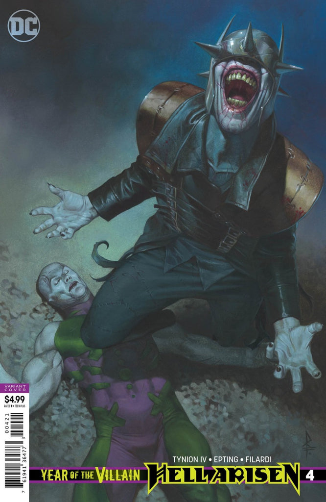 DC's Year of the Villain; Hell Arisen (2019 mini-series) #4 (of 4) (Variant Cover - Riccardo Federici)