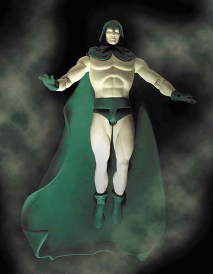 "DC Direct: ""Mages, Mystics & Magicians"" Series – Spectre (Jim Corrigan) Glow-in-the-Dark 7"" Figure"