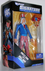 "DC Universe Signature Collection: Exclusive – Uncle Sam 6"" Figure with Doll-Man Mini-Figure"