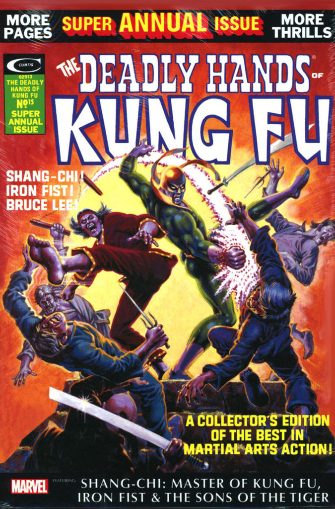 Deadly Hands of Kung-Fu Omnibus Hardcover Volume 01 (2016)