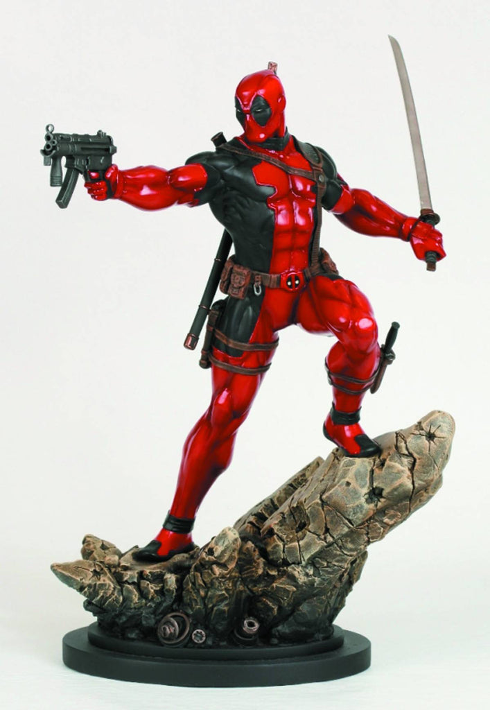 Deadpool – Full-Size Statue (Action Version)