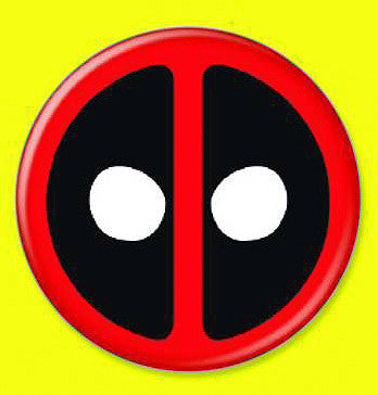 Tin Button – Deadpool – The Deadpool Logo