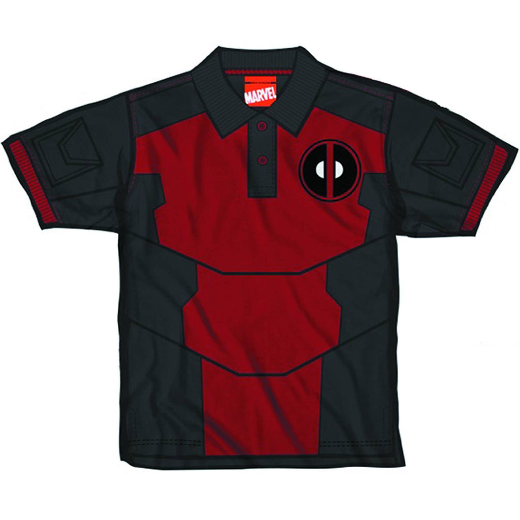 Deadpool – Adult Men's Polo Shirt (XXL)