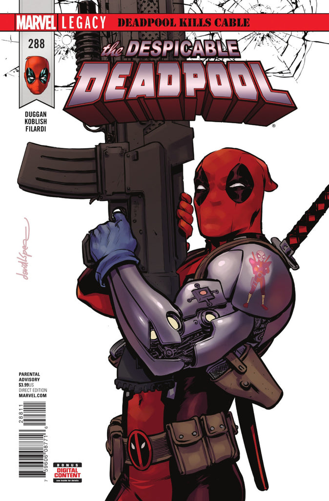 Despicable Deadpool (2015 Series) #288 (Regular Cover - David Lopez)