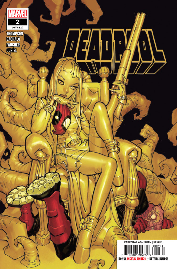 Deadpool (2019 series) #2 (Regular Cover - Chris Bachalo)