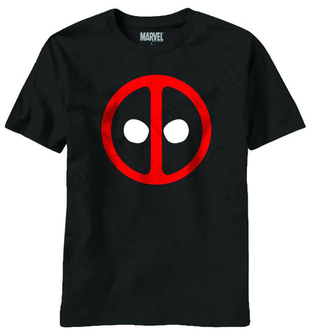 Deadpool – Deadpool Icon – Adult Men's Black T-Shirt XXL