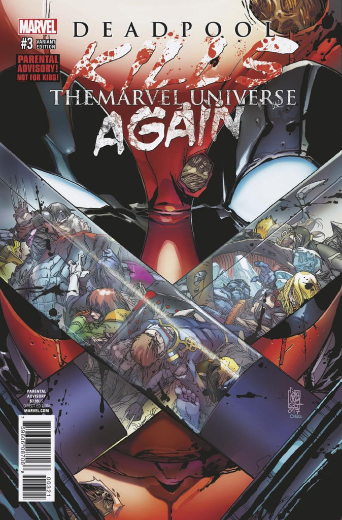 Deadpool Kills The Marvel Universe Again (2017 Series) #3 (of 5) (Variant Cover - Giuseppe Camuncoli)