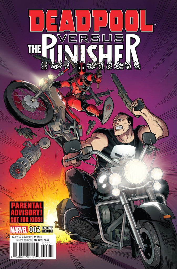 Deadpool vs. The Punisher (2017 Mini-Series) #2 (Variant Cover - Salvador Espin)