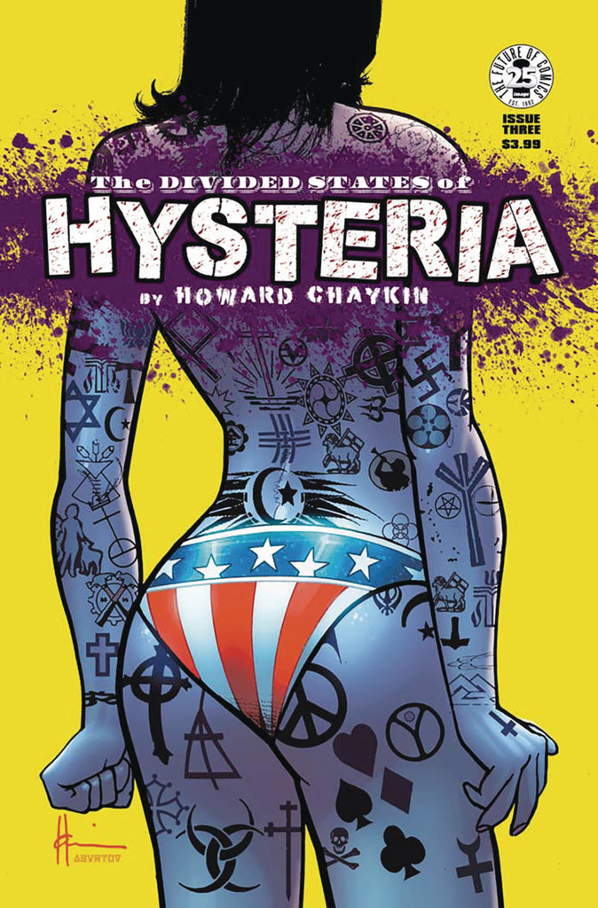 Divided States of Hysteria (2017 Mini-Series) #3