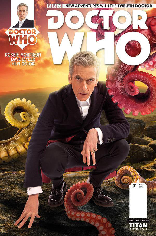 "Doctor Who: New Adventures with The 12th Doctor (2014 Series) #2 (Variant ""B"" Subscription Photo Cover - AJ)"