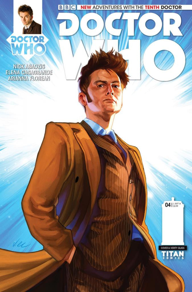 "Doctor Who: New Adventures with The 10th Doctor (2014 Series) #4 (Regular ""A"" Cover - Verity Glass)"