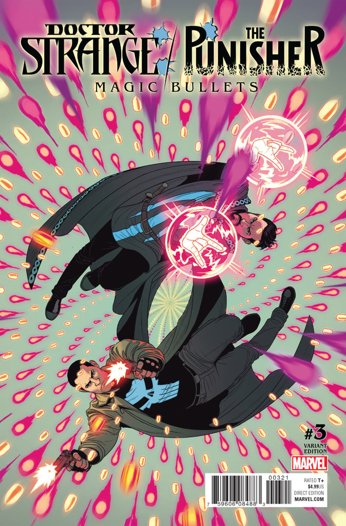 Doctor Strange / The Punisher (2016 Mini-Series) #3 (of 4) (Variant Cover - Jamie McKelvie)