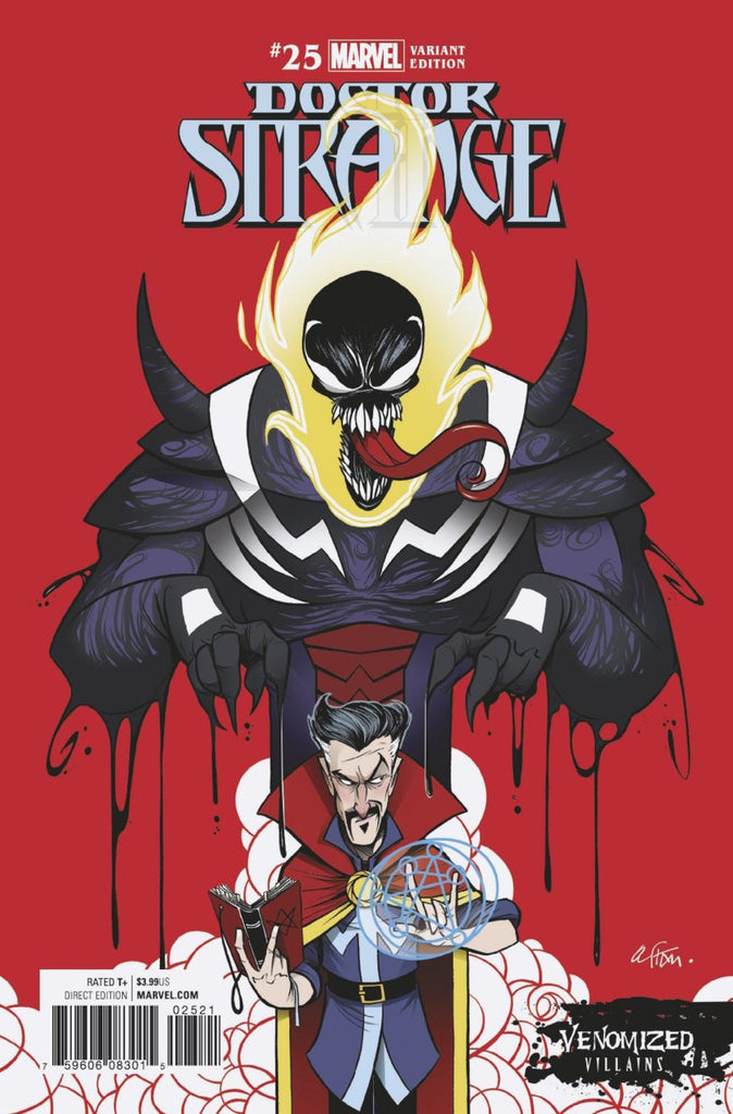 "Doctor Strange (2015 Series) #25 (Variant ""Venomized Villains"" Cover - Gustavo Duarte)"
