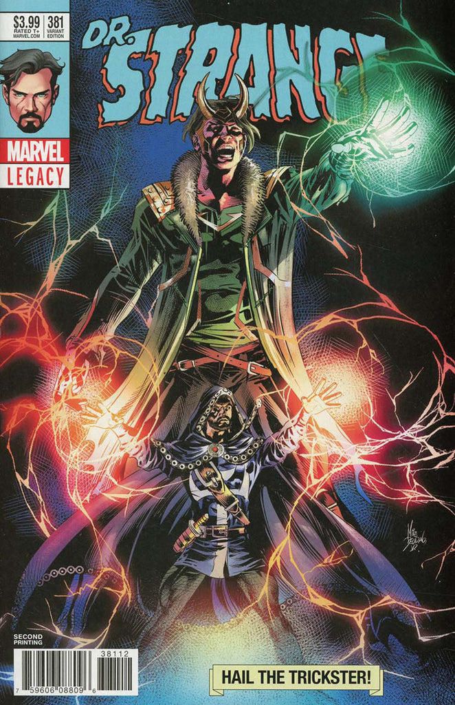 Doctor Strange (2015 Series) #381 (Variant 2nd Printing Cover - Mike Deodato, Jr.)