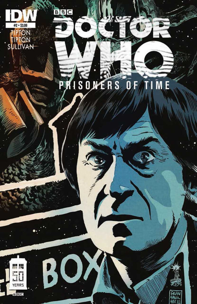 "Doctor Who: Prisoners of Time (2012 Mini-Series) #2 (Regular ""A"" Cover - Francesco Francavilla)"