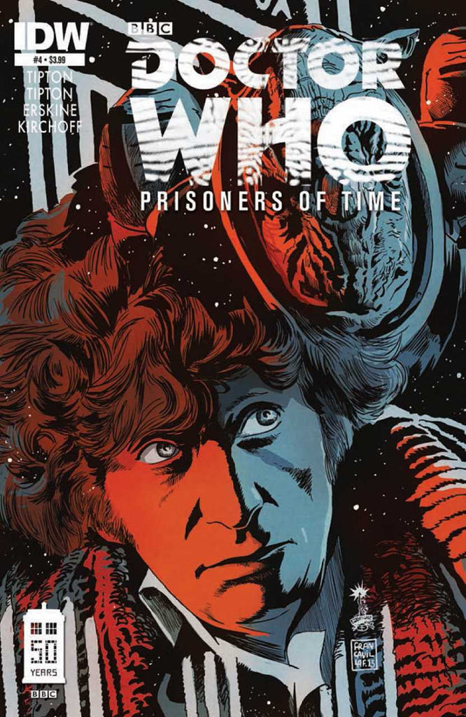 "Doctor Who: Prisoners of Time (2012 Mini-Series) #4 (Regular ""A"" Cover - Francesco Francavilla)"