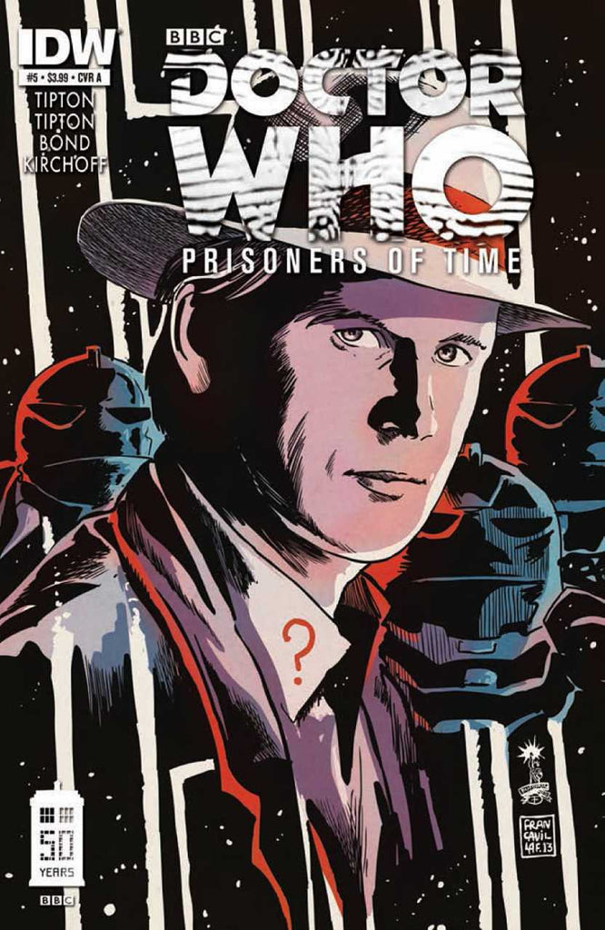 "Doctor Who: Prisoners of Time (2012 Mini-Series) #5 (Regular ""A"" Cover - Francesco Francavilla)"